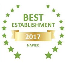 Award: best establishment 2017, Napier