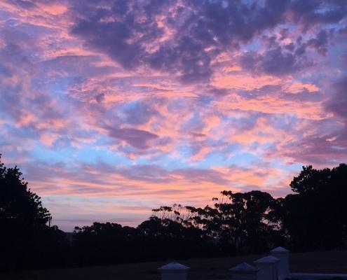 Sunset over Doornbosch Gamelodge & Guesthouses