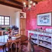 Küche im Zebra Ferienhaus